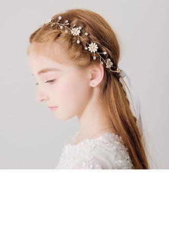Ile Rhinestones/Çiçek Headbands (Tek parça Satılan)