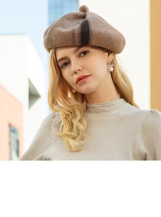 женские Красивая/Элегантные/простой Шерстяные Шляпа Берет