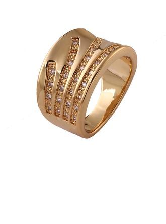 High Quality Copper/Zircon Ladies'/Men's Rings