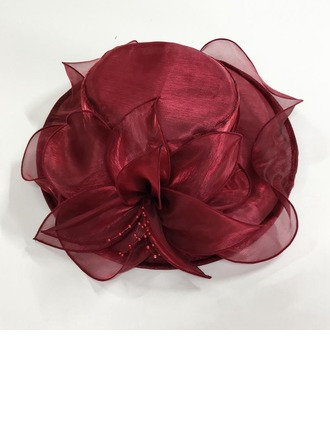 Damen Prächtig Organza Bowler/Kapotthut/Kentucky Derby Hüte/Tea Party Hüte