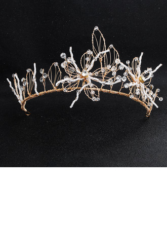 Ladies Beads Tiaras (Sold in single piece)