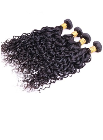 4A Non remy Water Wave Human Hair Human Hair Weave (Sold in a single piece) 100g