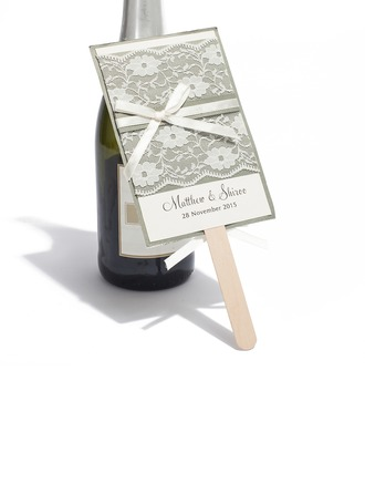 Individualisiert Modern Style Flache Karte Invitation Cards (Satz 10)