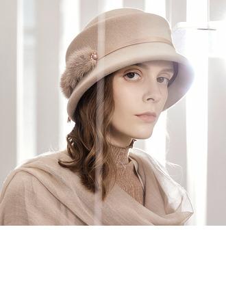 Dames Glamour/Élégante/Jolie Coton Chapeau melon / Chapeau cloche