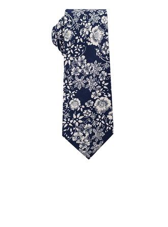 Blommig Bomull Tie