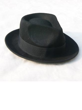 Men's Glamourous/Elegant/Simple Felt Fedora Hat