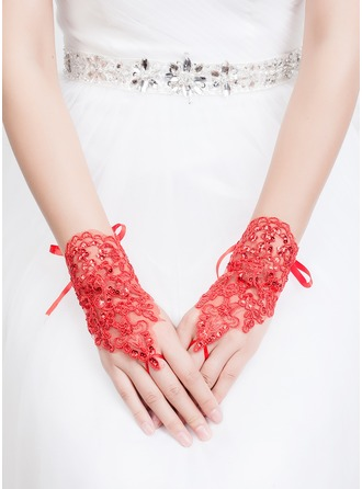 Tyl/Lace Wrist Længde Party/Fashion Handsker/Brude Handsker
