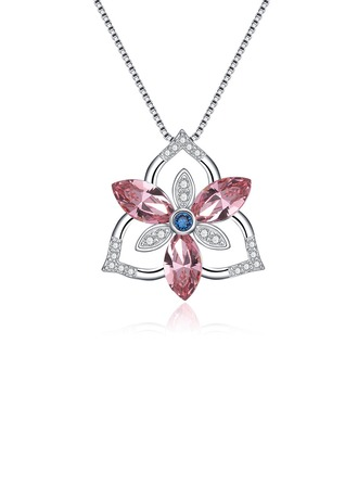 Ladies' Charming Crystal Necklaces For Bridesmaid/For Friends