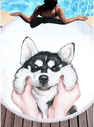 perro de gran tamaño/atractivo toalla de playa