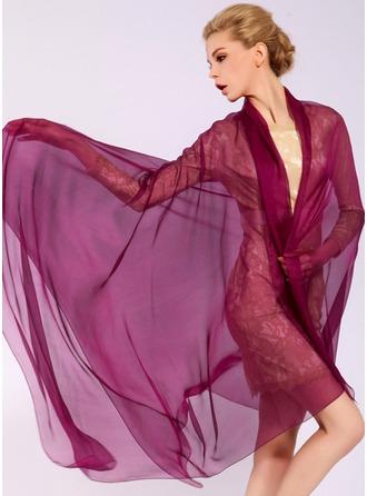 Solid färg Lättvikt/attraktiv/enkel Mulberry silke Halsduk