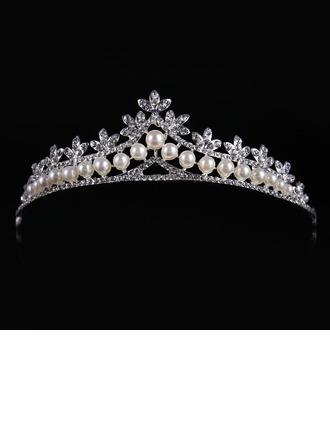 Abbigliamento donna Stile classico lega/Di faux perla Diademi