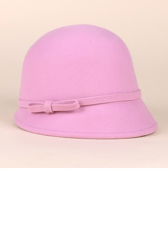 Ladies' Eye-catching Wool Bowler/Cloche Hats