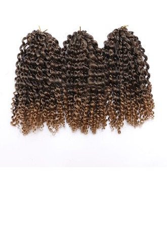 Curly Synthetic Hair Braids (Sold in a single piece) 80g