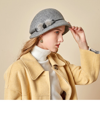 Ladies' Beautiful/Simple/Pretty Wool Bowler/Cloche Hats