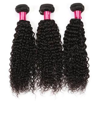 3A Non remy Curly Human Hair Human Hair Weave 100g