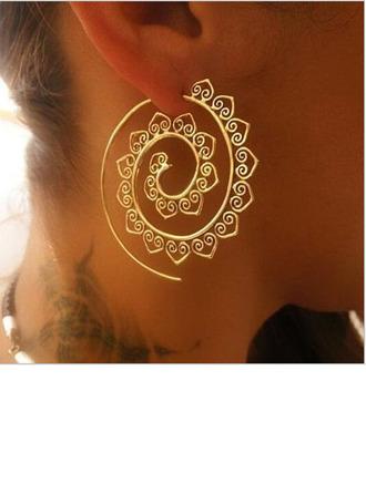 Exotisch Legierung Frauen Art-Ohrringe