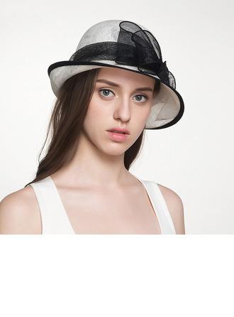 Señoras' Glamorosa/Elegante Batista Sombreros Tea Party