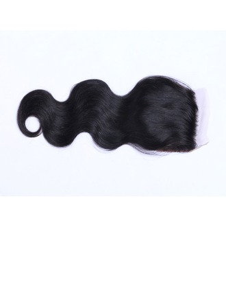 """4""""*4"""" 4A Non remy Body Human Hair Closure (Sold in a single piece) 50g"""