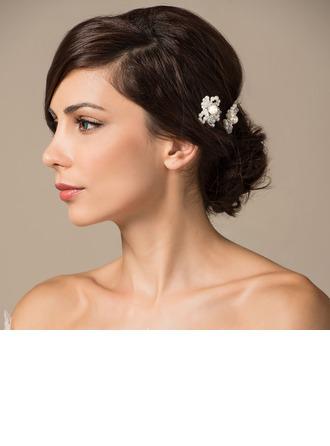 Elegante La perla de faux Horquillas (Se venden en una sola pieza)