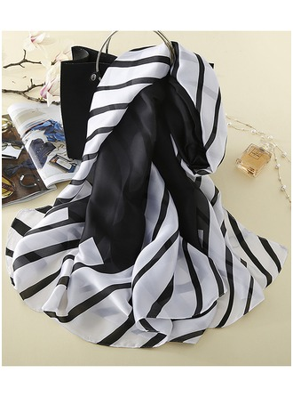 Striped Light Weight Scarf