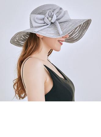 женские Классический/Элегантные Кружева с бантом Пляжные / солнцезащитные шлемы