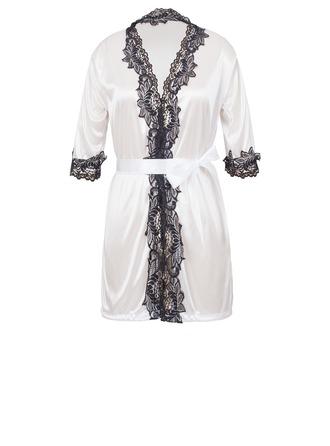 Dantel/viskon Elyaf Çekicilik Kadınsı Pijama mağazası/Gelin Iç çamaşırı