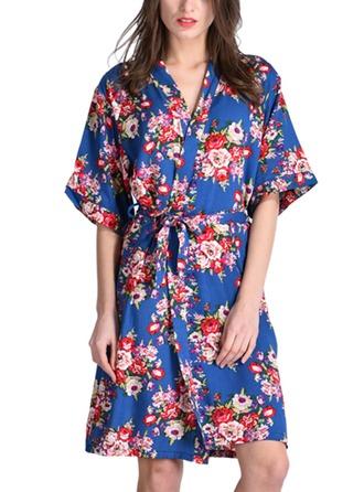 Bawełna Panna młoda Druhna Mamo Kwiatowe szaty
