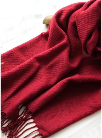 Couleur unie Énorme mode Polyester Écharpe 08dba7dff5e