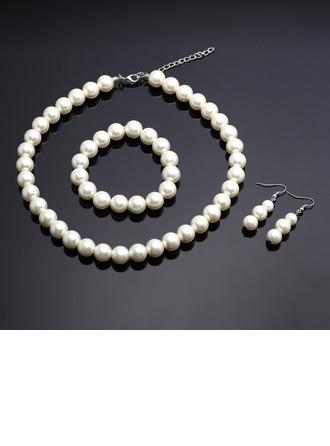 Elegante Falso pérola Senhoras Conjuntos de jóias