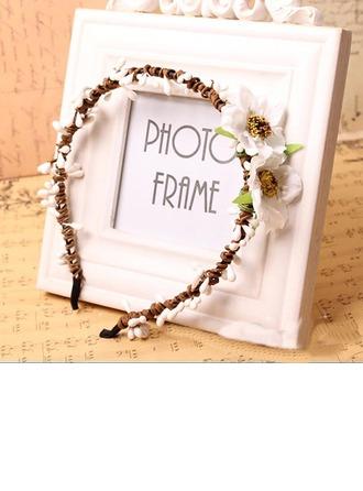Kunstseide mit Blume Stirnbänder