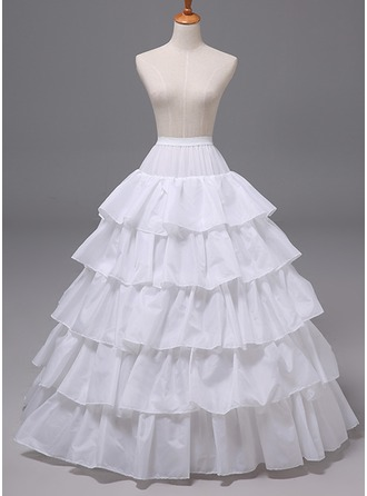 Women Polyester 6 Tiers Petticoats