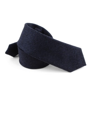 Solid Color Wool Tie
