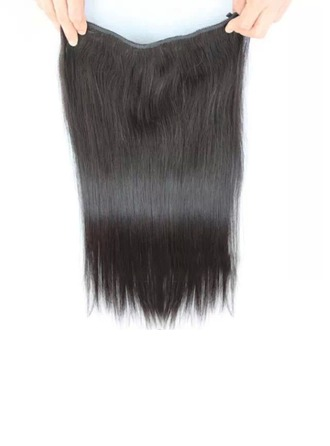 4A Non remy Straight Human Hair Tape in Hair Extensions (Sold in a single piece) 100g