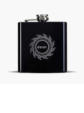 Groomsmen Gaver - Personaliseret Classic Rustfrit Stål Flask
