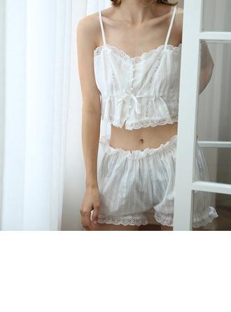 Algodão Sexy Nupcial/Feminino lingerie Set