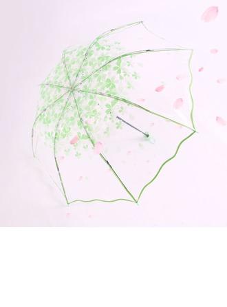 Pärl ljus Bröllops Paraplyer