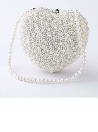 Elegante PVC Bolso Claqué
