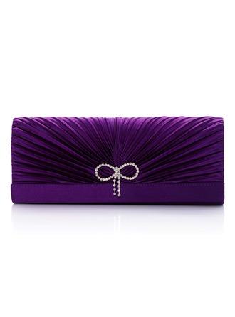 Prächtig Satin/Seide Handtaschen