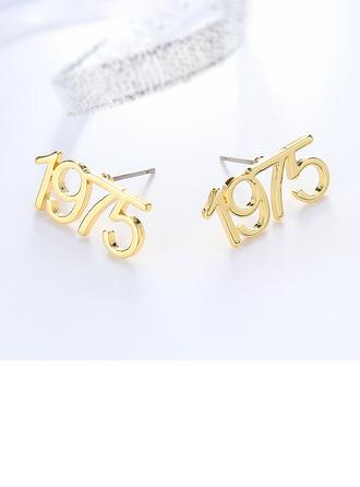 Individualisiert Damen Einzigartig Edelstahl Ohrringe Freunde/Brautjungfern/Für Sie