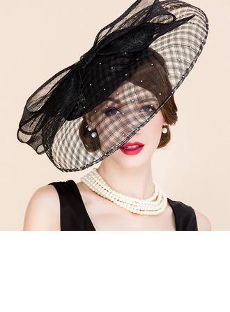 Bayanlar Güzel/Glamourous/Şık/Nefis Patiska Çay Partisi Şapkaları