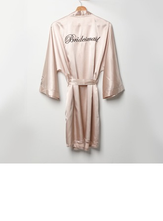 Bruidsmeisje Gifts - Elegant Mode Charmeuse Gewaad
