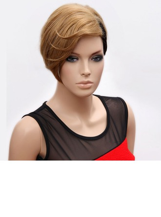 Straight Synthetic Hair Capless Wigs 80g