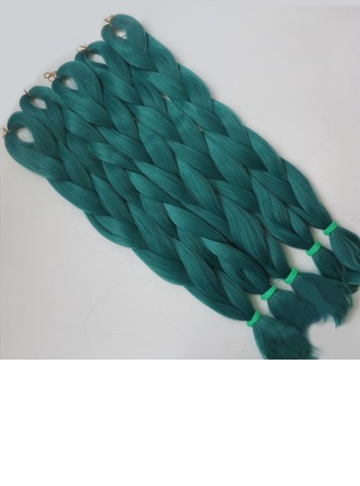 Straight Synthetic Hair Braids (Sold in a single piece) 80g