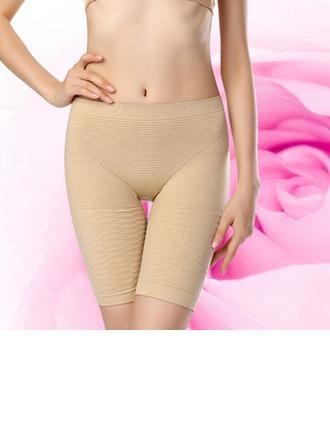 Kvinner Sexy Spandex Kleur Ademend Hoge Taille Korte Broek Corrigerend Ondergoed