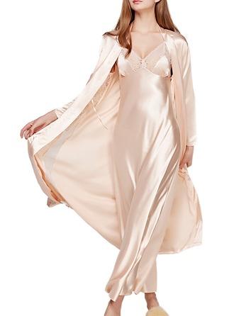 Nevěsta Družička charmeuse S Délka ke kotníkům Kimono roucho