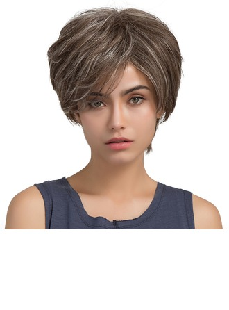 Lige Human Hair Parykker