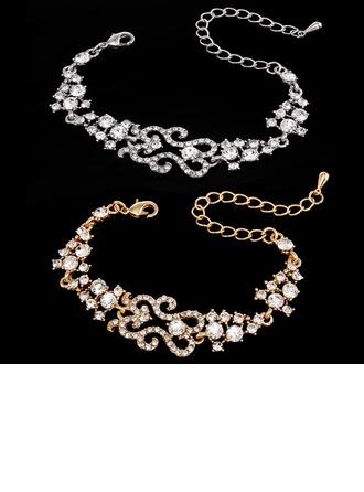 Élégante Alliage/Strass Dames Bracelets