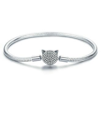Geplatineerd Fijne ketting Armbanden en manchetten Chain armbanden - Valentijnsgeschenken Voor Haar