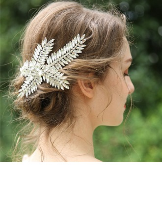 Dames Mooi Strass Haarspelden met Strass (Verkocht in één stuk)