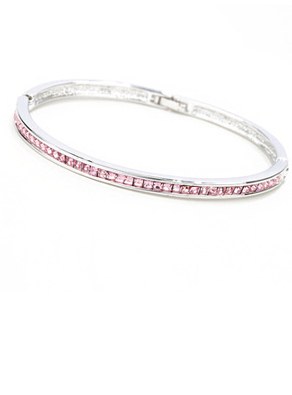 Ladies' Elegant Alloy Rhinestone/Austrian Crystal Bracelets For Bride/For Bridesmaid